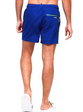 Swimsuit Superdry Volley Azul Homens