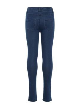 Trousers Name it NKFPolly Blu Navy