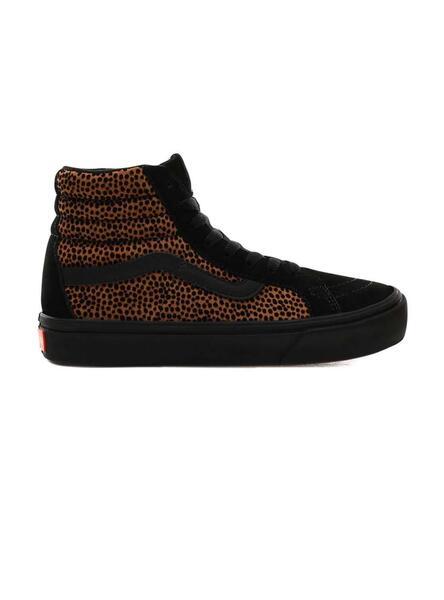 Sapatilhas Vans SK8 Hi ComfyCush Tiny Cheetah