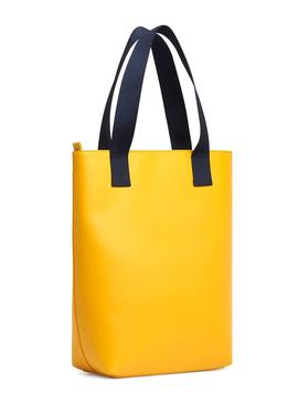 Saco Tommy Jeans Tote Amarelo