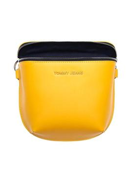 Saco Tommy Jeans Femme Logotipo Amarelo Para Mulhe