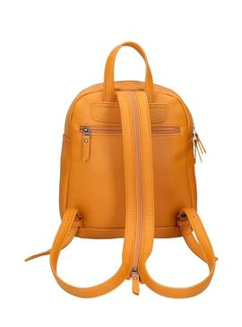 Mochila Pepe Jeans Daphne Camel For Mulher