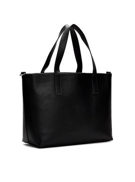 Saco Tommy Jeans Femme Tote Preto Mulher