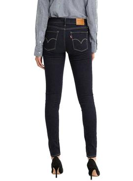 Jeans Levis 710 Innovation Marine Mulher