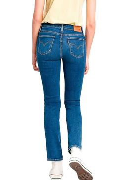 Jeans Levis 712 Slim Mid Mulher