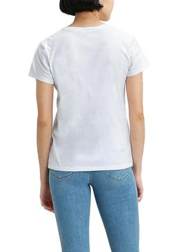 T-Shirt Levis Perfect Serif Logo Multi Mulher