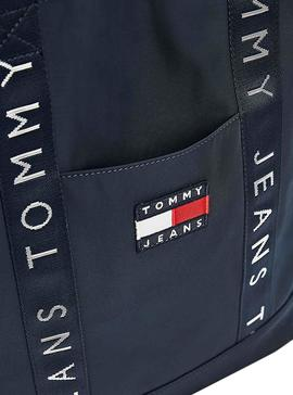 Bolsa Tommy Jeans Heritage Azul para Mulher