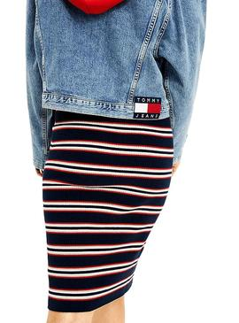 Casaca Tommy Jeans Jeans oversize para Mulher