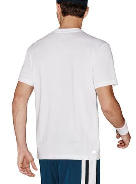 T- Shirt Lacoste Sport TH7618 Branco
